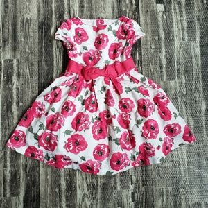 Janie and Jack floral dress, size 3